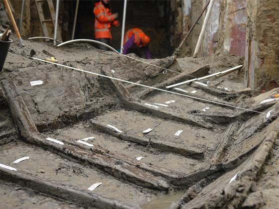 archeologische opgraving