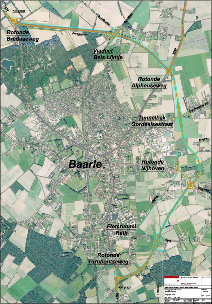 kaart N260